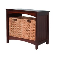 Lurganville Wood Storage Bench