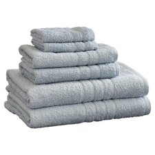 Egyptian Quality Cotton 6 Piece Towel Set