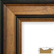 "2"" Wide Wood Grain Picture Frame"