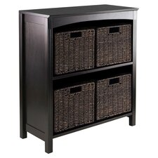 Martinsville 4 Drawer Storage Shelf