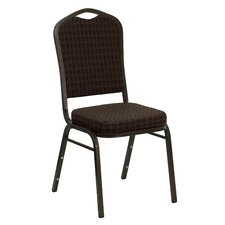 Orland Crown Back Stacking Guest Chair