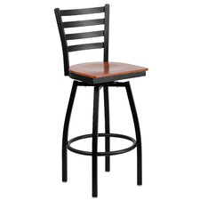 "Portland 30.25"" Swivel Bar Stool"