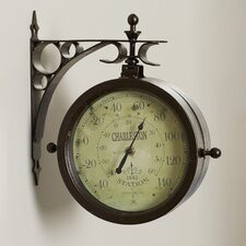 """8"""" Two Sided Wall Clock"""