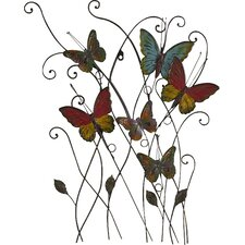 Multicolored Butterfly Bouquet Wall Décor
