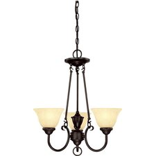 Almont 3 Light Mini Chandelier