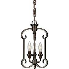 Warner Robins 3 Light Foyer Pendant