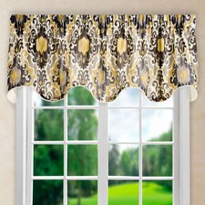 "Mead Lined 70"" Scallop Curtain Valance"