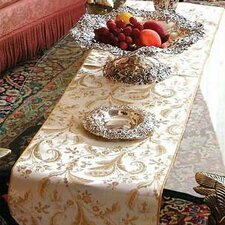 Rockport Damask Design Table Runner