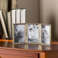 Saunterton Traditional Hinged Triple Picture Frame