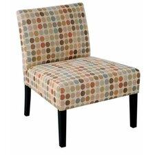 Rockville Retro Egg Slipper Chair