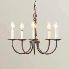 Oliver 5 Light Chandelier