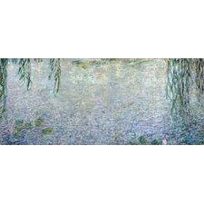 'Water Lilies, Morning' by Claude Monet Painting Print on Canvas