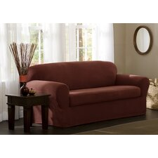 Blissfield StretchTwo Piece Loveseat Slipcover