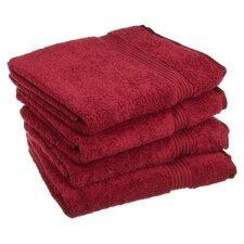Nashville 600GSM Premium Combed Cotton 4 Piece Bath Towel Set (Set of 4)