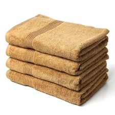 Nashville 600GSM Premium Combed Cotton 4 Piece Bath Towel Set (Set of 4)