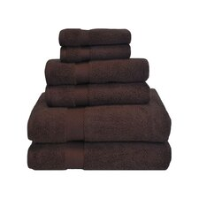 Clayton 6 Piece Zero-Twist Towel Set