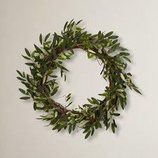 """Giada 20"""" Faux Olive Wreath"""