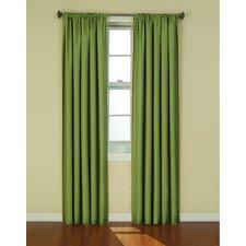 Columbia Rod Pocket Single Blackout Curtain Panel