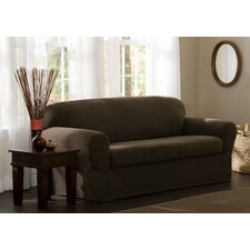 Blissfield Stretch Two Piece Sofa Slipcover