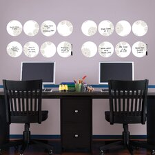 Troy Weekly Dots Whiteboard Wall Decal