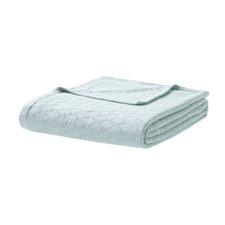 Featherston Fresh Spun Basketweave 100% Cotton Blanket