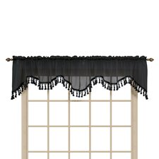 "Forrester 59"" Scalloped Curtain Valance"