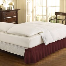 Francisville Wrap Around Solid Ruffled 140 Thread Count Bed Skirt