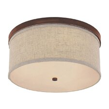Osborne 3 Light Flush Mount