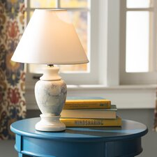 """Ira 15"""" H Table Lamp with Empire Shade"""