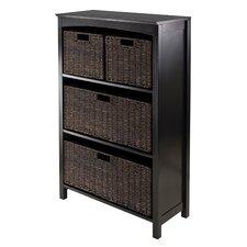 Martinsville 4 Drawers Storage Shelf
