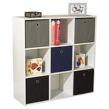 "Cliffside 32.75"" Cube Unit Bookcase"
