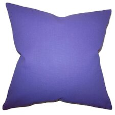 Portsmouth Solid Cotton Throw Pillow