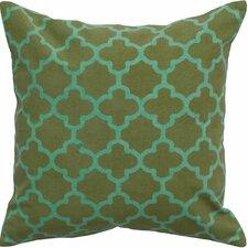 Arbogast Print Cotton Throw Pillow