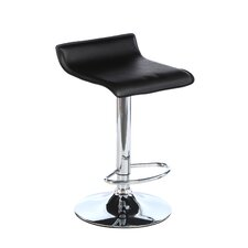 Wimberley Adjustable Height Swivel Bar Stool with Cushion