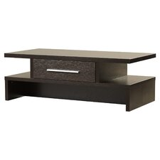 Rectangular One-Drawer Coffee Table
