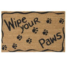 Ruff Life Wipe Your Paws Doormat