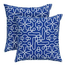 Peterson Reversible Cotton Throw Pillow