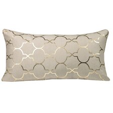 Salisbury Foil Tile Throw Pillow