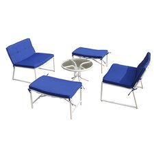 Tenafly 5 Piece Seating Group with Cushion