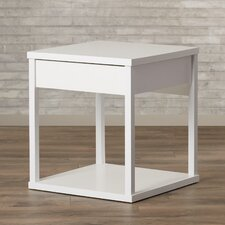 Oday End Table with Drawer