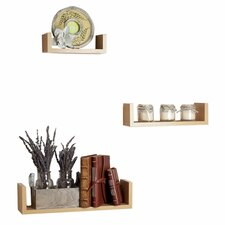 Hendricks 3 Piece Floating Shelf Set