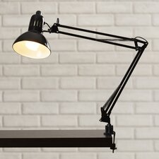"""Sylvan Place 35"""" H Table Lamp with Bell Shade"""