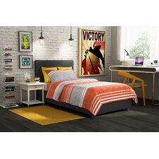 Spruce Hill Upholstered Platform Bed