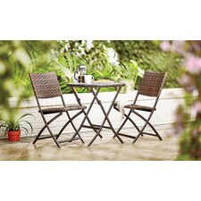 Holroyd 3 Piece Outdoor Bistro Set