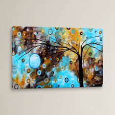 'Baby Blues' by Megan Duncanson Graphic Art on Wrapped Canvas