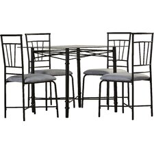 Marielle 5 Piece Dining Set