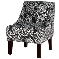 Printed Swoop Arm Chair