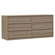 West Oak Lane 6 Drawer Dresser