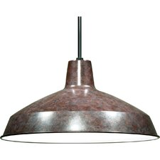 Bouvier 1 Light Bowl Pendant