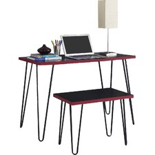 Bergland Writing Desk with Stool